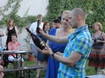 vino italiano sabrage