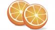 červeného pomeranče