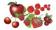 červeného ovoce