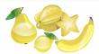 žlutého ovoce