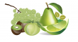 zeleného ovoce