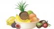 tropického ovoce