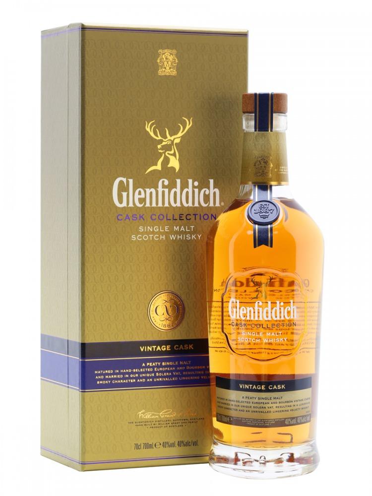 Glenfiddich Whisky Vintage Cask Speyside
