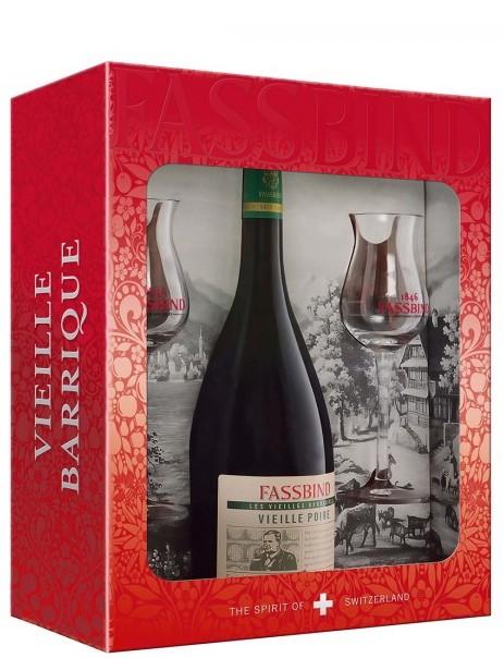Fassbind Liker Vieille Poire Gift Box 2x sklenice
