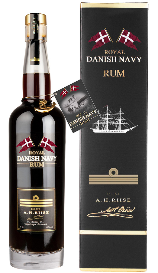 A.H. Riise Rum Royal Danish Navy Strength Virgin Islands