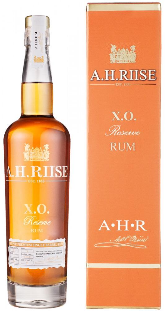 A.H. Riise Rum XO Reserve Virgin Islands