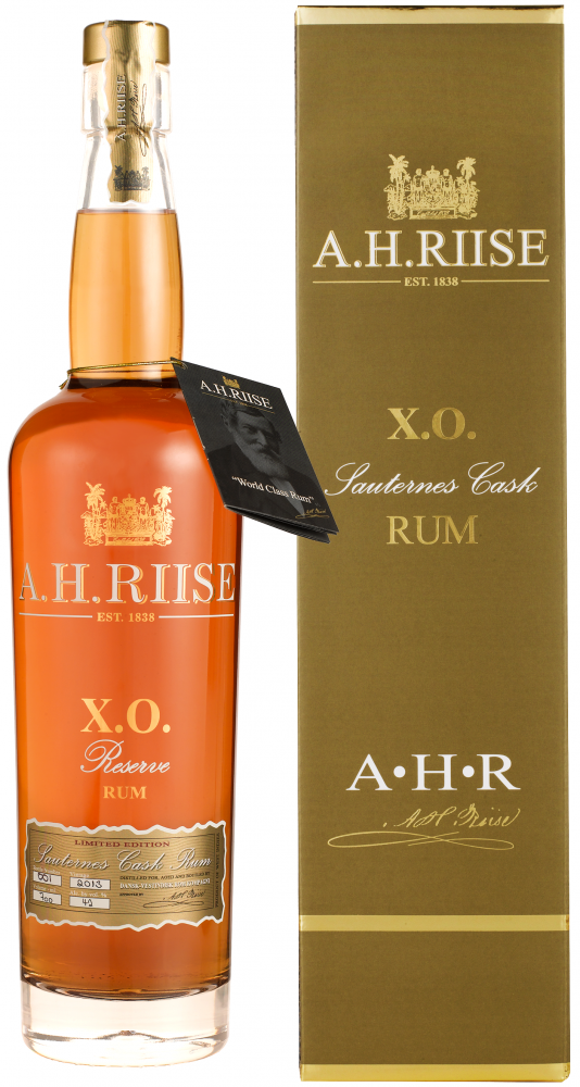 A.H. Riise Rum XO Sauternes Cask Virgin Islands