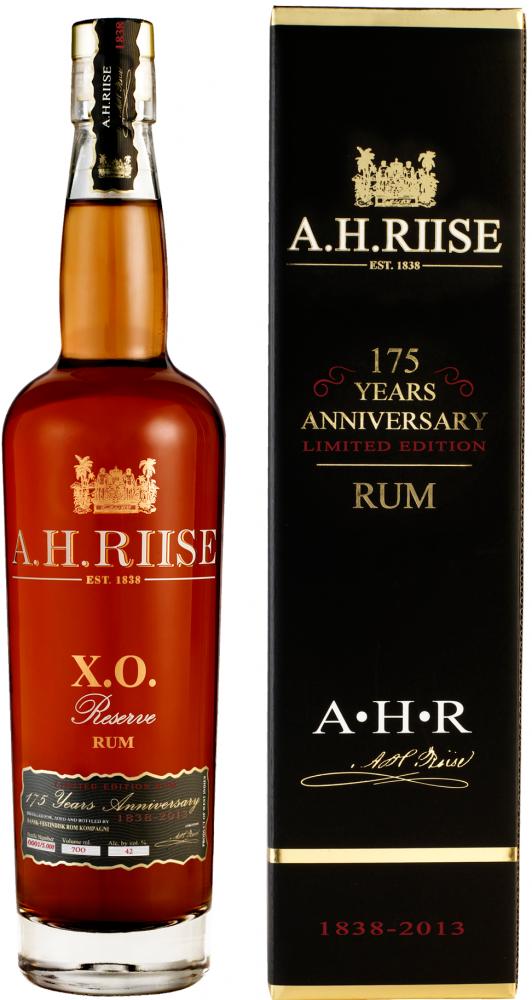 A.H. Riise Rum 175 Anniversario Virgin Islands