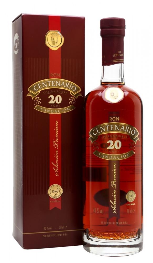 Centenario Rum 20yo Costa Rica