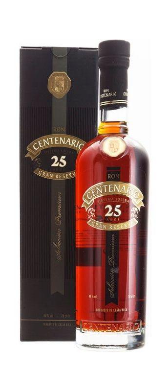Centenario Rum 25yo Costa Rica