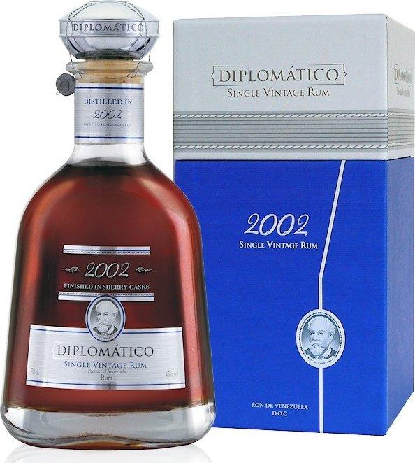 Diplomatico Rum Single Vintage 2002 Venezuela