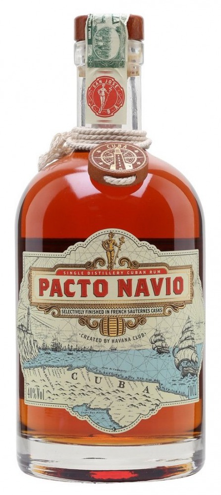 Pacto Navio Rum Sauternes Casks Cuba