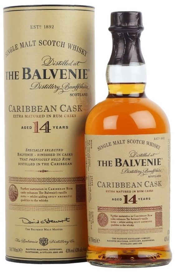 Balvenie Whisky Caribbean Cask 14yo Speyside