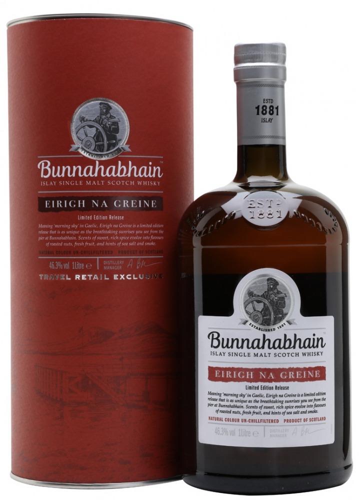 Bunnahahbhain Whisky Eirigh Islay 1l