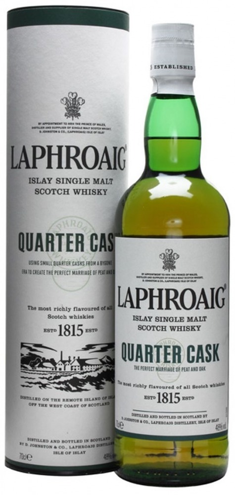 Laphroig Whisky Quarter Cask Islay