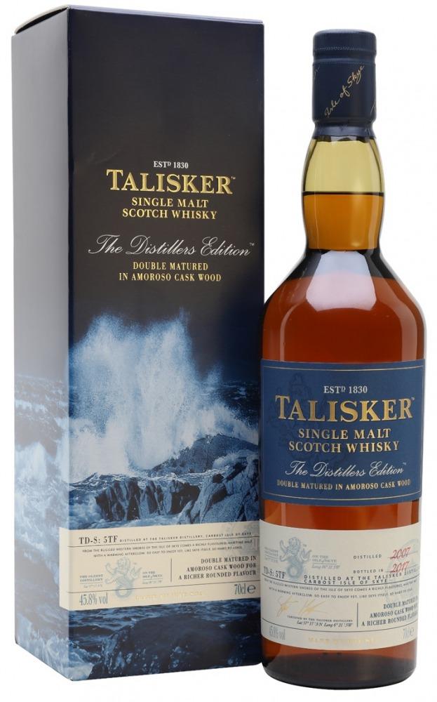 Talisker Whisky Distillery Edition 2007/2017