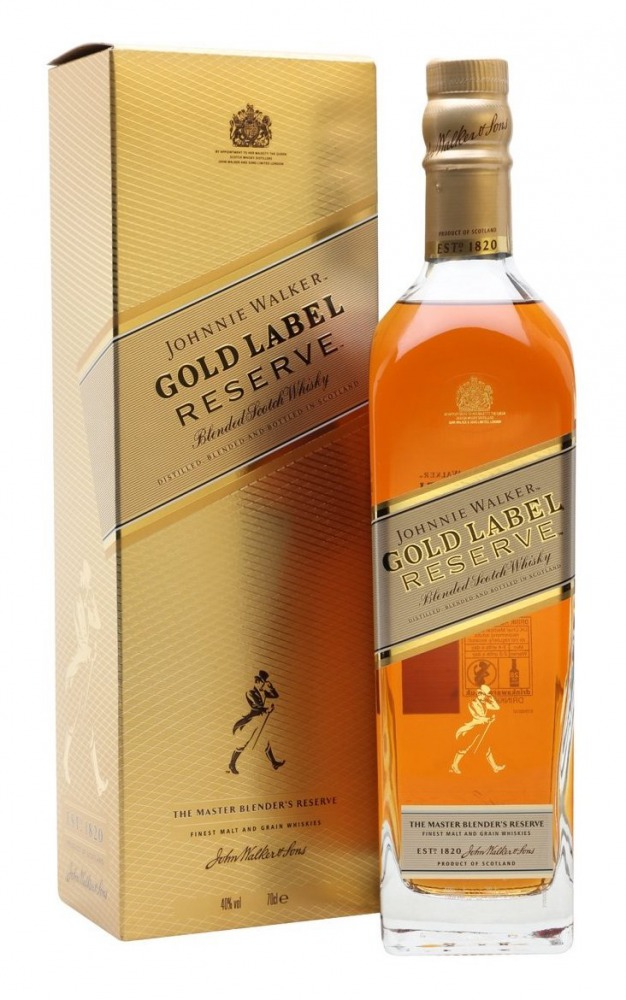 Johnnie Walker Whisky Blended Gold Label 0,2l mini