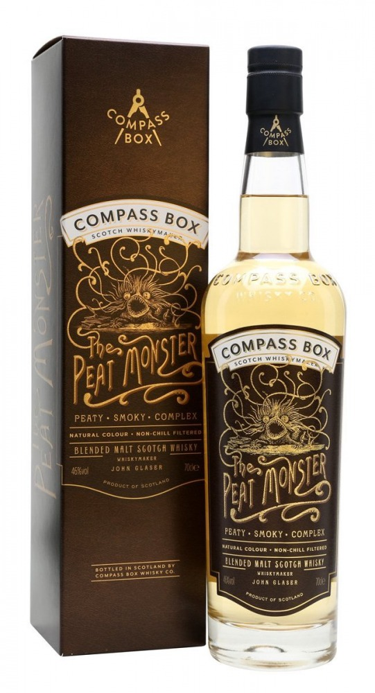 Compass Box Whisky Blended Peat Monster