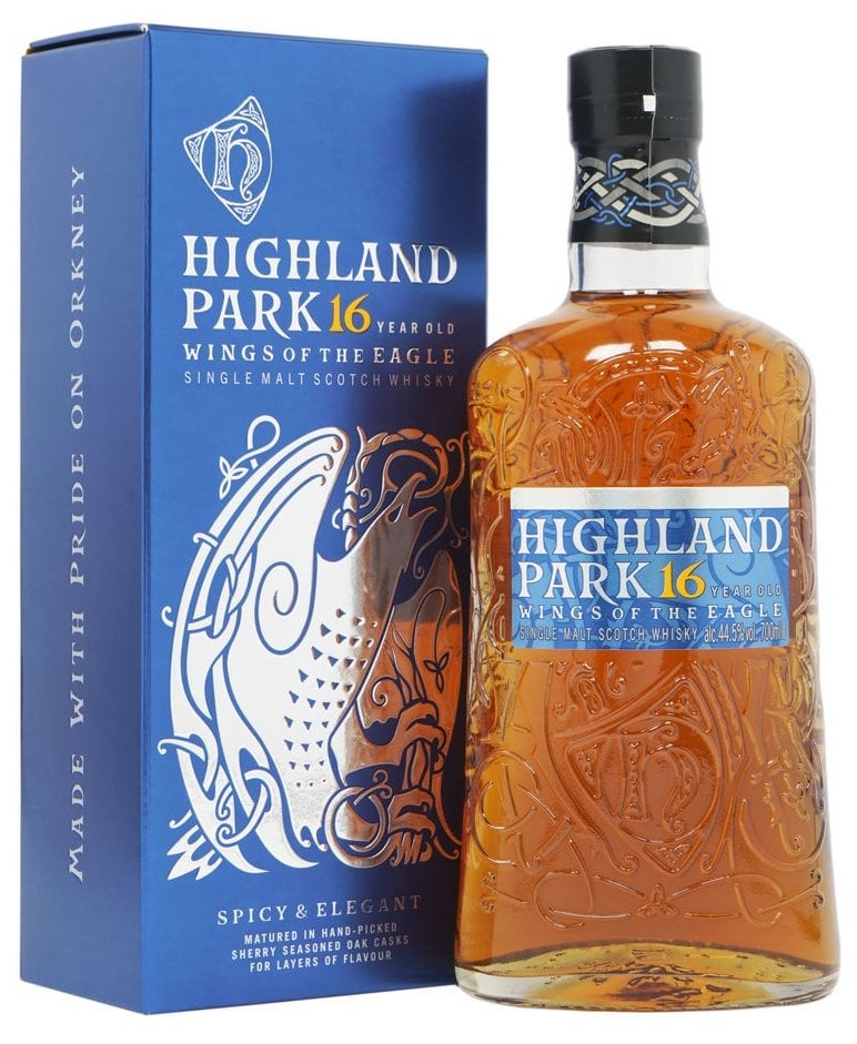 Highland Park Whisky Wings of the Eagle 16yo Orkney