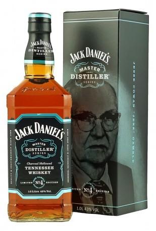 Jack Daniels Bourbon Master Destiller N4 Tennessee 1,0l