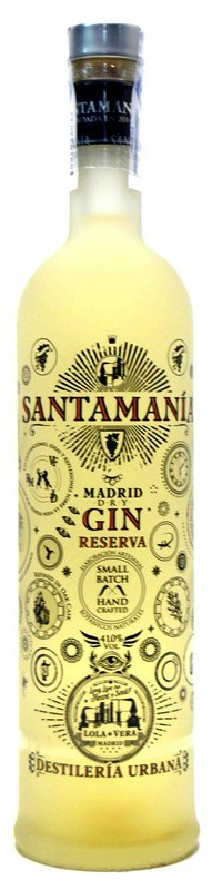 Santamania Gin London dry Spain