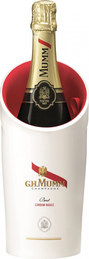 Mumm Champagne Cordon Rouge Brut Ice Box