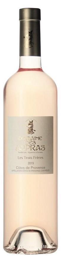 Domaine Des Aspras Rose Lisa Trois Freres 2019 Provence