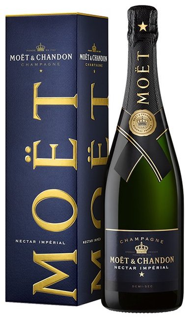 Moet & Chandon Champagne Imperial Nectar paper box