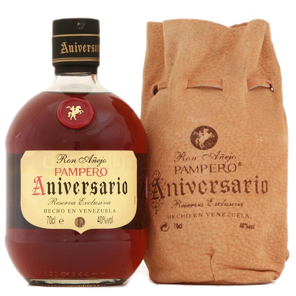 Pampero Rum Aniversario Venezuela Leather Box