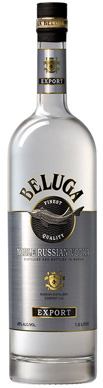 Beluga Vodka Noble Russia 1l