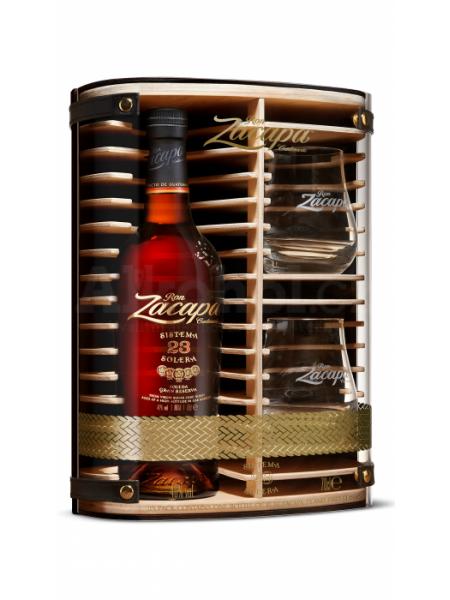 Zacapa Rum 23 Solera Guatemala Gift Box 2x sklenice