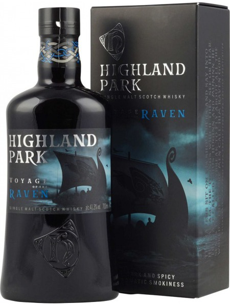 Highland Park Whisky Raven Orkney