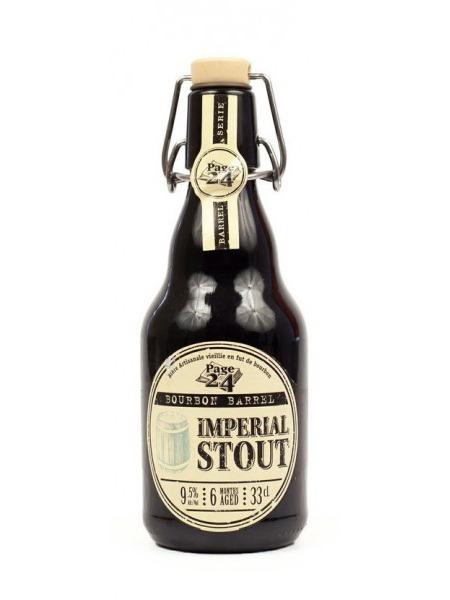 Brasserie St Germain Pivo Imperial Stout Whisky Bourbon Barrel 0,33l Page24