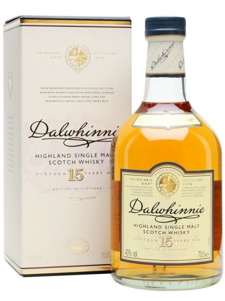 Dalwhinnie Whisky 15yo Highlands 1l