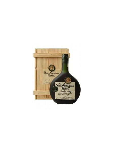 Delord Armagnac 50yo 1968 Wooden Box
