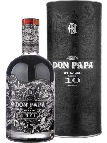 Don Papa Rum 10yo Philippines Box Tuba