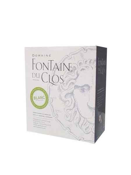 Fontaine du Clos Bag in Box Blanc 1,5l