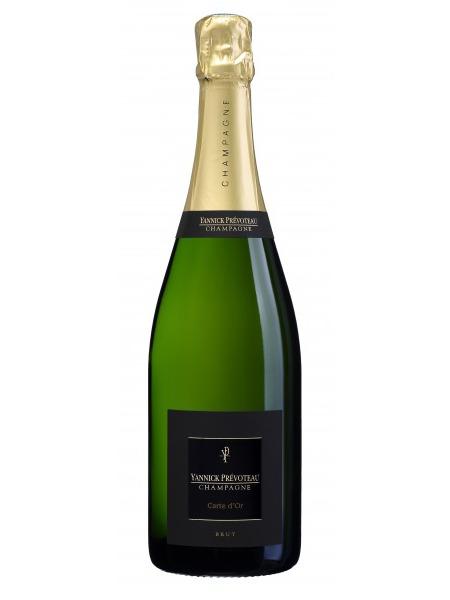 Yannick Prevoteau Champagne Carte d'Or Brut 0,375l