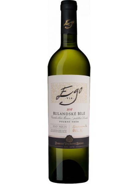 Zámecké vinařství Bzenec Rulandske bile Ego Klinky 2019