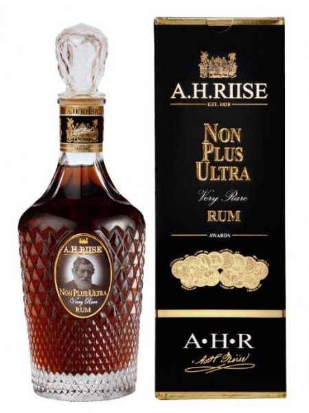 A.H. Riise Rum Non Plus Ultra Very Rare Virgin Islands