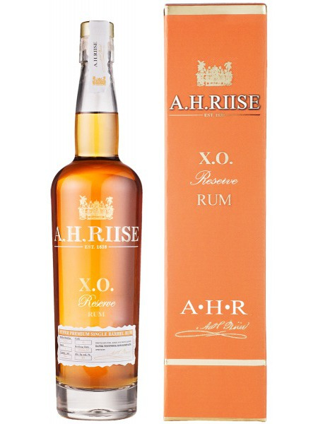 A.H. Riise Rum XO Reserve Virgin Islands