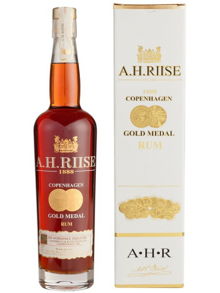 A.H. Riise Rum 1888 Gold Medal Virgin Islands