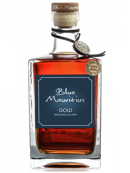 Blue Mauritius Rum Gold Refined Mauritius