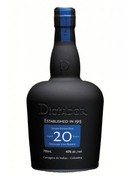 Dictador Rum 20yo Columbia