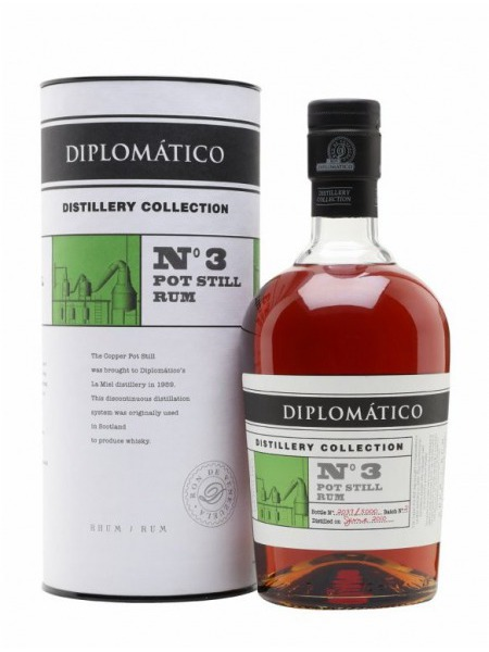 Diplomatico Rum Distillery Collection No.3 Pot Still