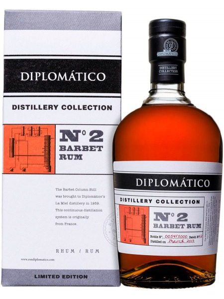 Diplomatico Rum Distillery Collection No.2 Barbet