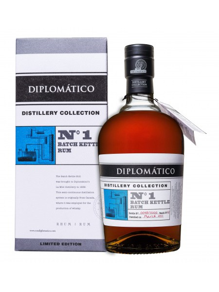 Diplomatico Rum Distillery Collection No.1 Batch Kettle