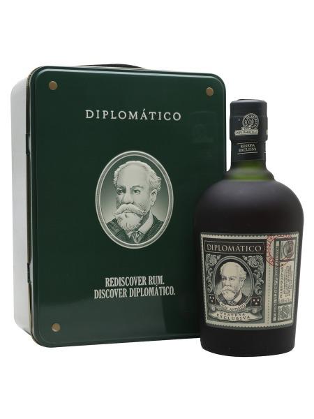Diplomatico Rum Reserva Exclusiva Venezuela Gift Box Suitcase