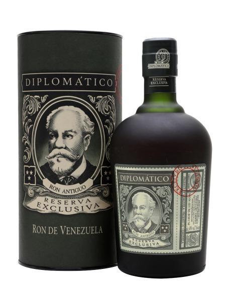 Diplomatico Rum Reserva Exclusiva Venezuela Box Tuba