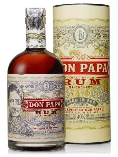 Don Papa Rum Philippines Box Tuba